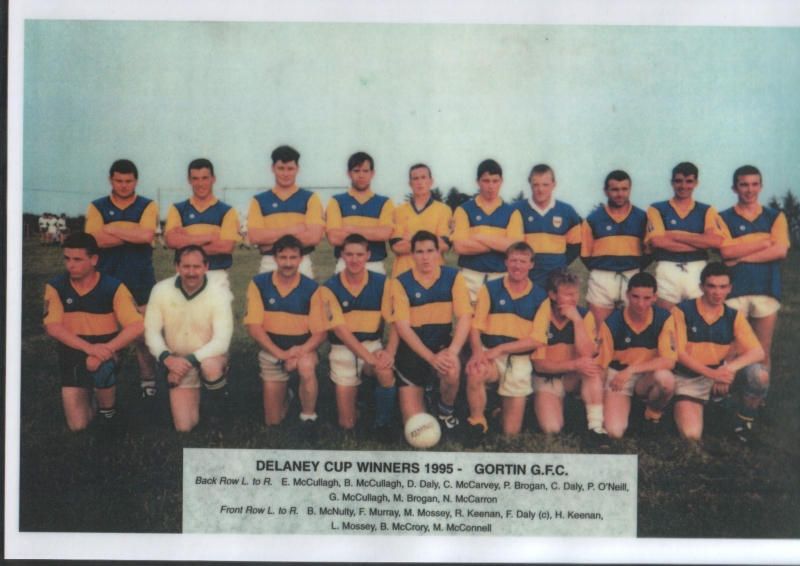 21. Delaney Cup Winners 1995