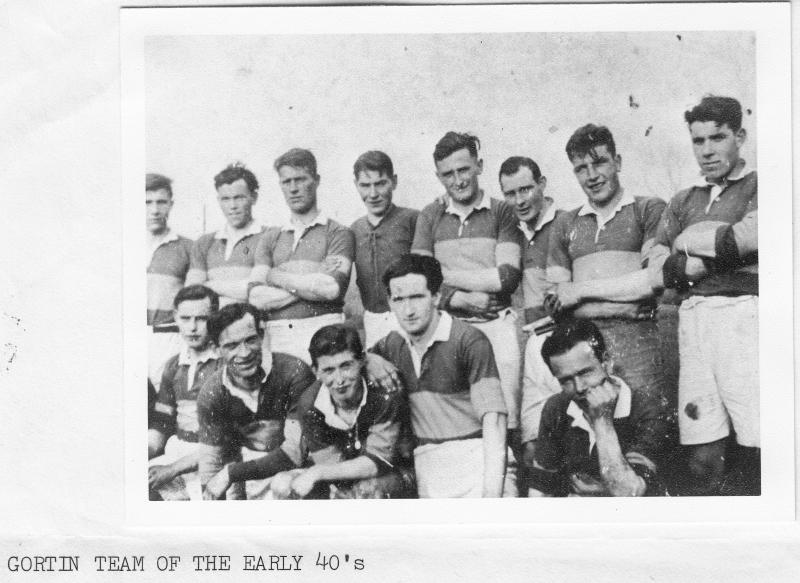 24. Gortin Senior Team 1940s