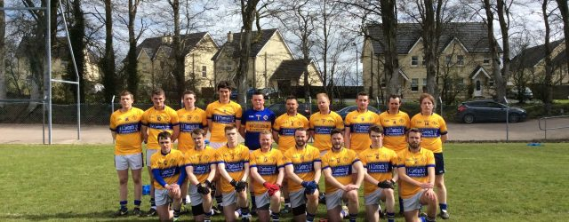 Back Row from Left to Right:- Shane O' Neil, Pearce Hollywood, Tony Mossey, Dean Crawford, Ruairí O' Neill, Kevin Mc Cullagh ( Captain) , Steven Daly, Shaun Mc Crumlish, James […]