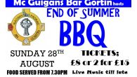 Come along to our End of Summer BBQ hosted by our Senior sponsor Mc Guigan'sir