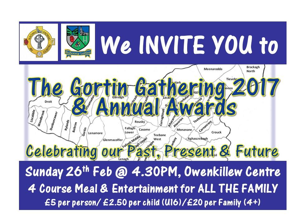Gortin Gathering 2017 @ Owenkillew Community Centre