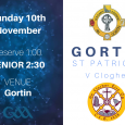 Senior FootballWe take on Clogher in our final league game of 2019 at Home on Sunday at 2:30 pm. (Reserve game at 1:00 pm TBC). Although they haven't been on […]