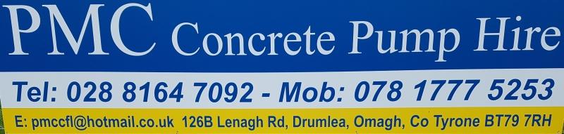 PMC Concrete Pump Hire